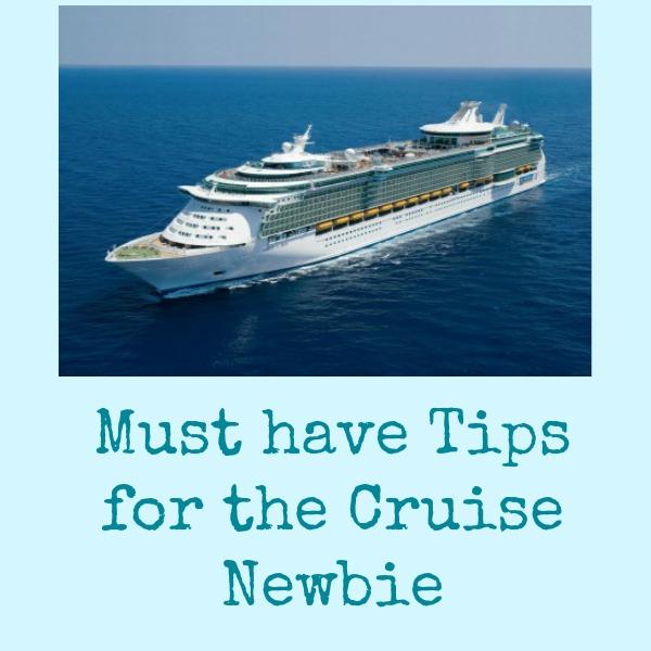 cruise newbie tips