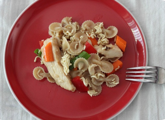 Yummy pasta salad!