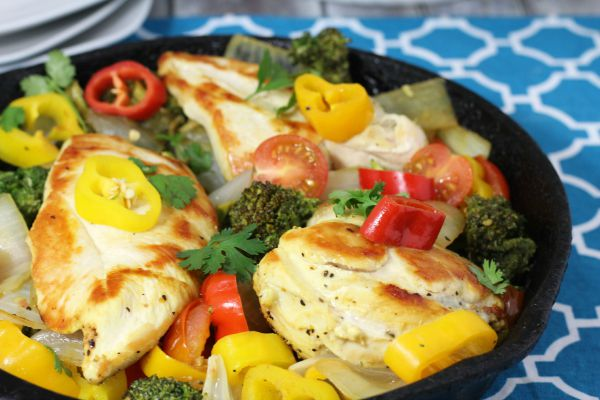 Lemon Chicken Skillet Dinner 5