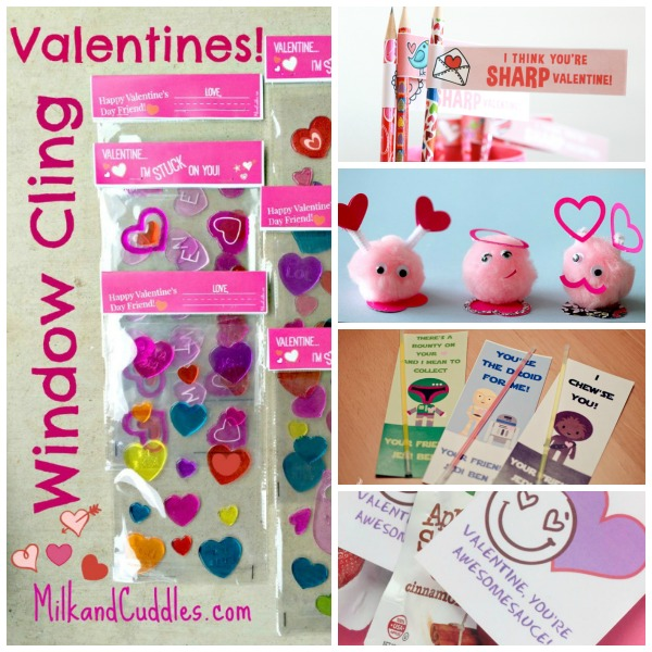 non candy valentine's collage