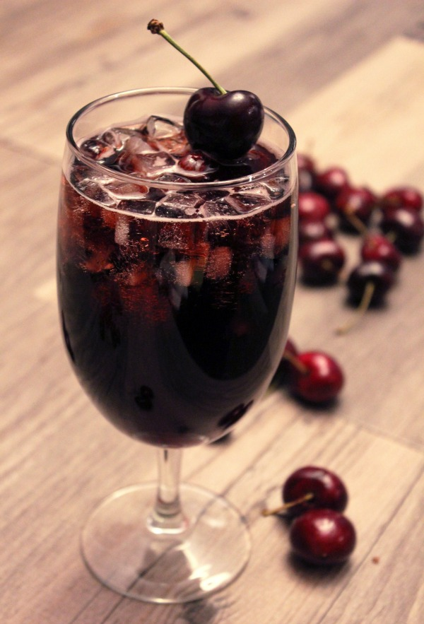 black cherry cocktails