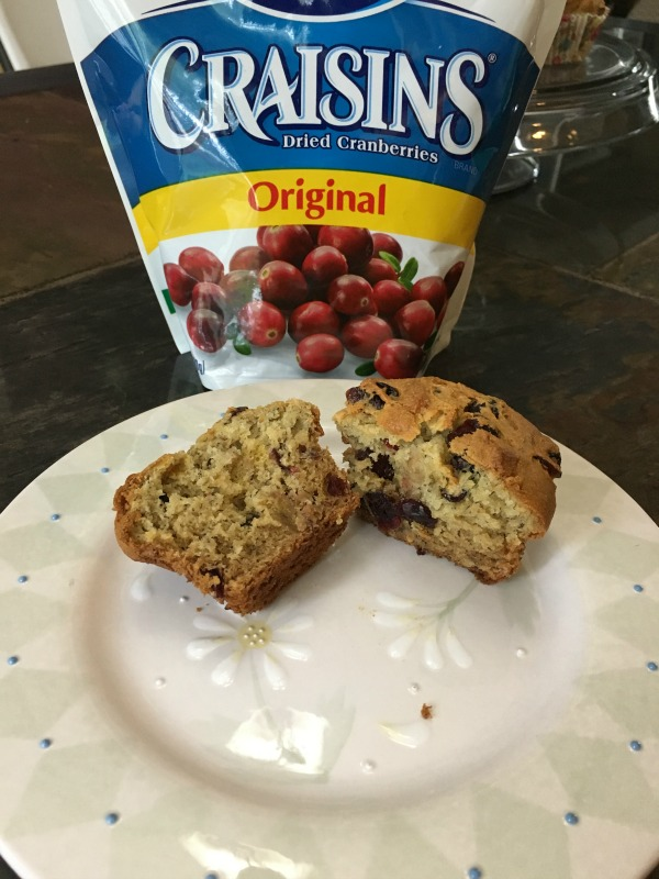 gluten free banana cranberry