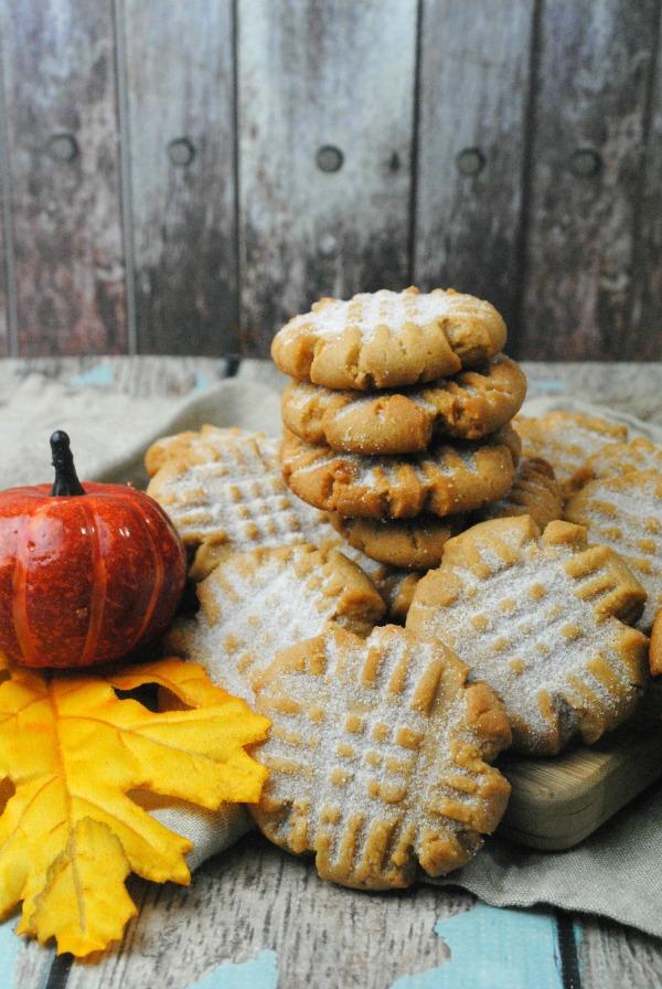 pumpkin spice peanut butter