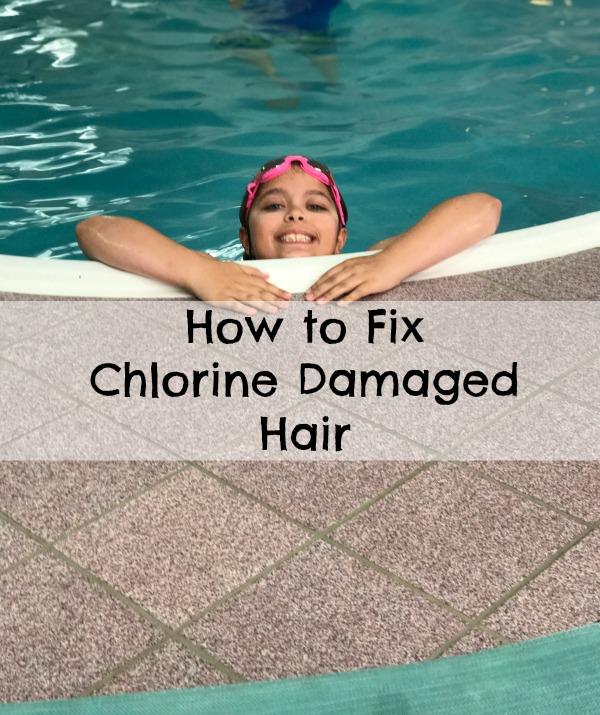 chlorine damaged