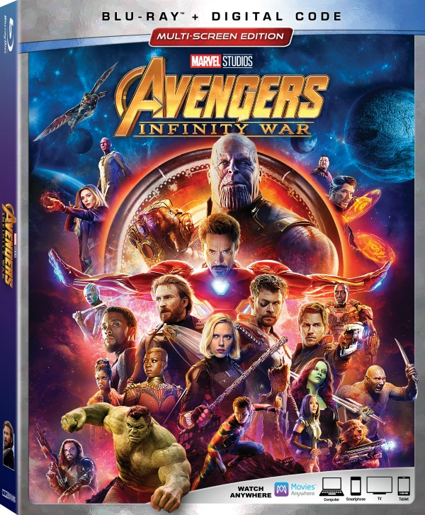 Continue the Avengers saga with Marvel Studios' Avengers: Infinity War. It's out now digitally or you can pick up your copy soon on August 14th!