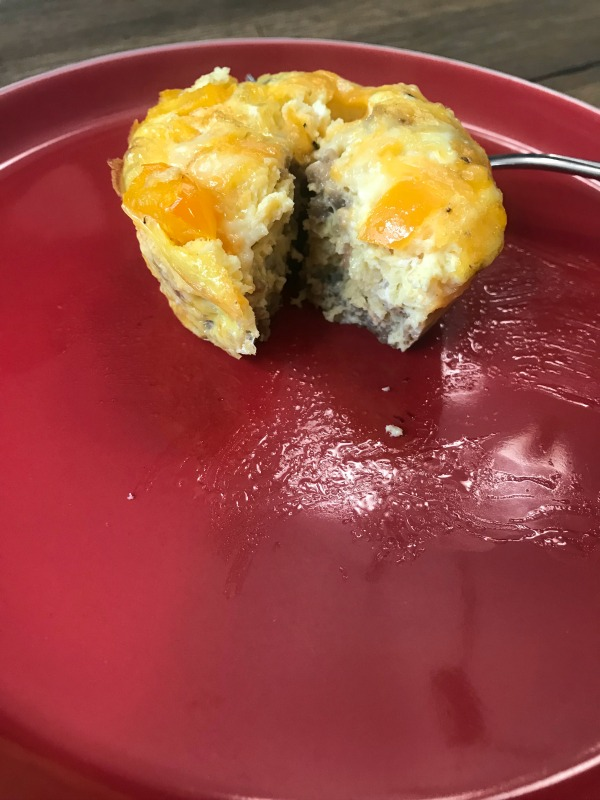 spicy sausage egg muffins