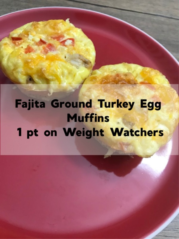 ground turkey egg muffins