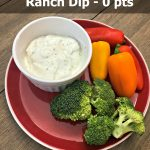 weight watchers ranch dip