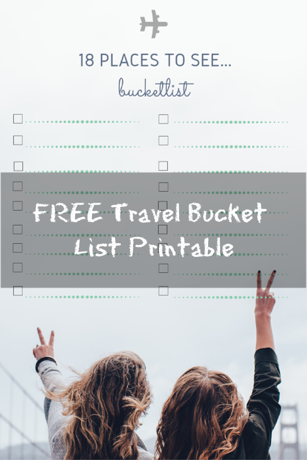 graphic about Bucket List Printable titled Drive Bucket Record Cost-free Printable Diaries of a Family