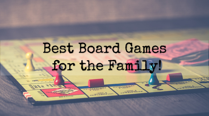 Spending time with family and friends is so important! Make that time a little more fun with one of these great board games!