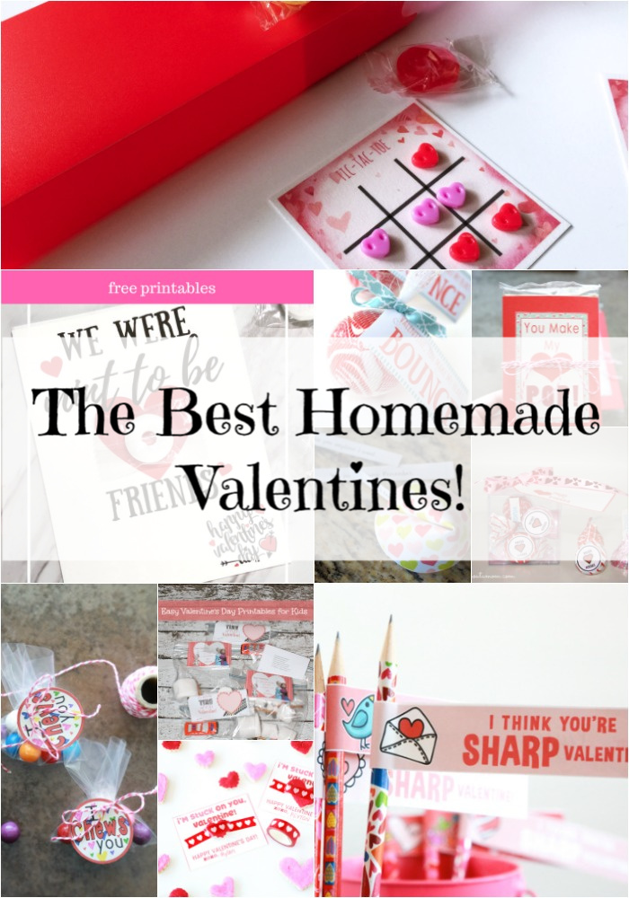 homemade valentines