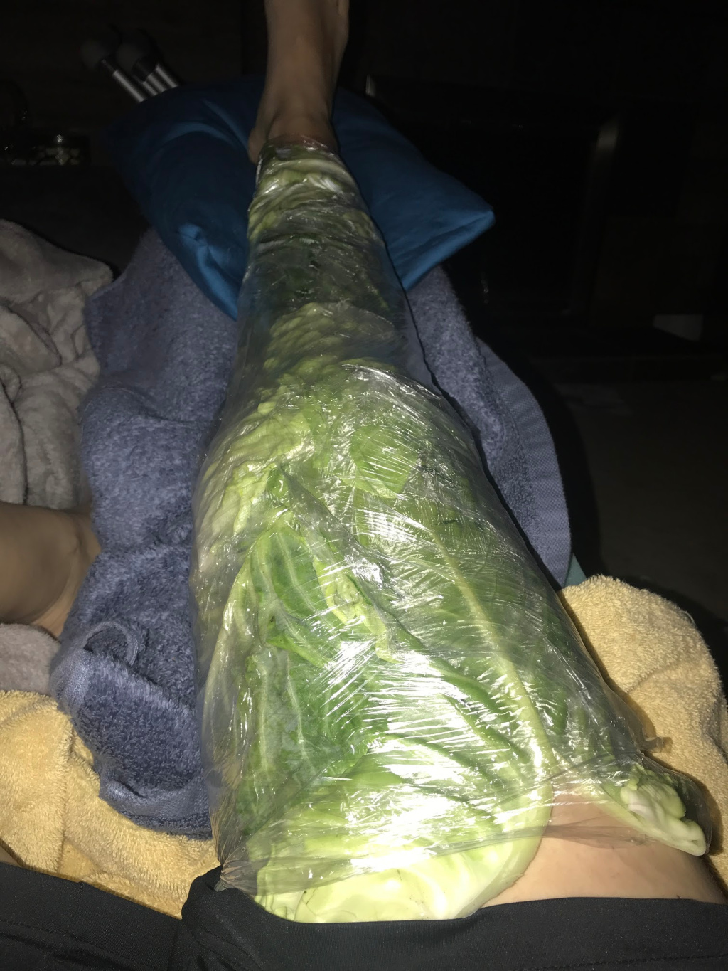 reduce swelling with cabbage