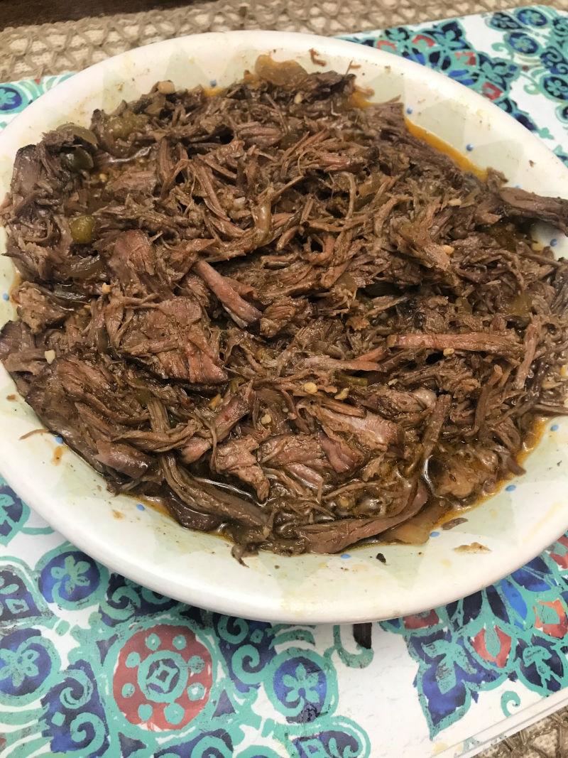 keto beef carnitas