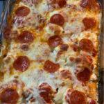 pizza chicken casserole